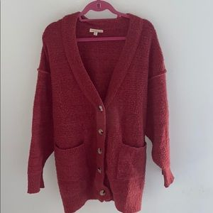 BOUTIQUE OVERSIZED CARDIGAN